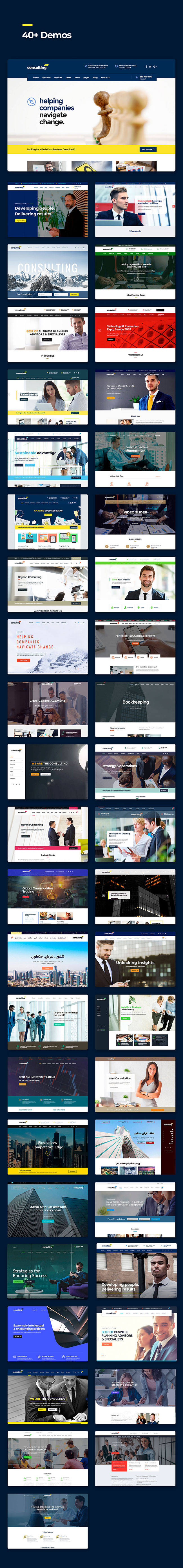 Consulting theme pro