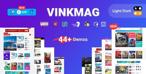 قالب Vinkmag