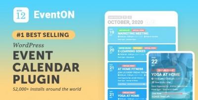 EventOn v4.0 NULLED (+ افزونه ها) - تقویم رویدادهای وردپرس